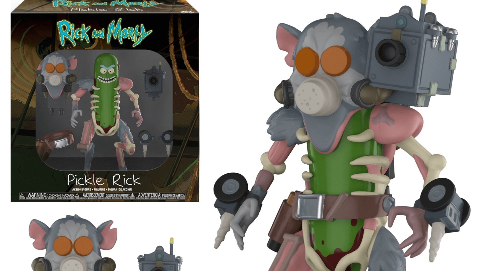 126cf61a192 RICK AND MORTY's Pickle Rick Gets an Awesome Action Figure From Funko —  GeekTyrant