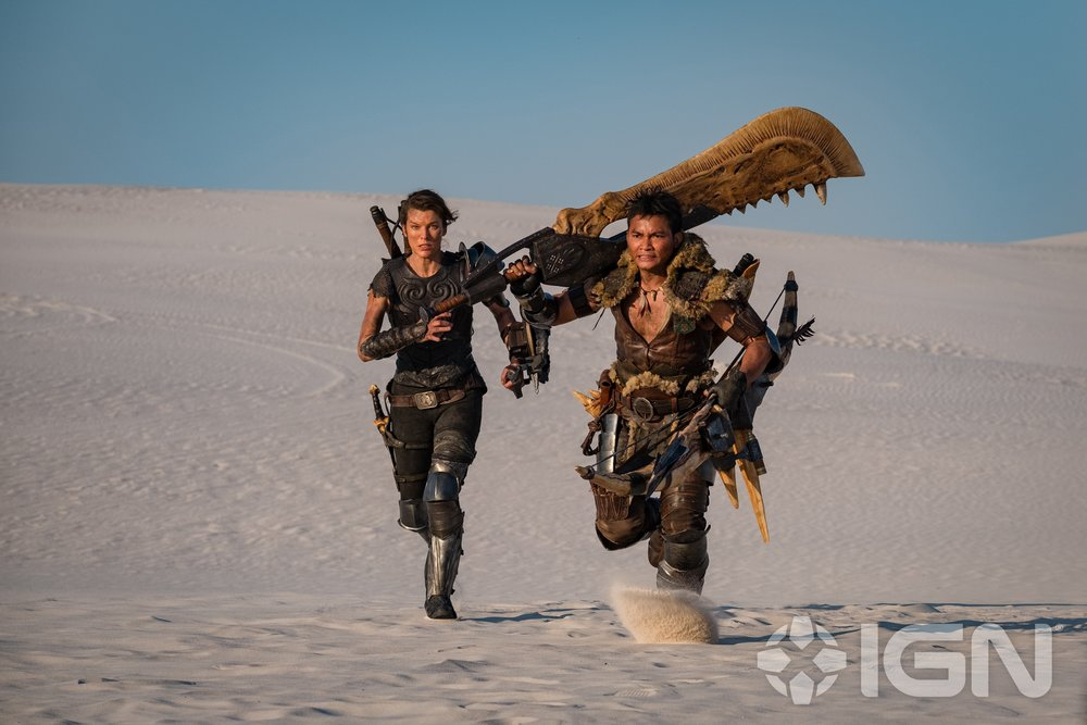 First Photo of Milla Jovovich and Tony Jaa in Action in MONSTER HUNTER and an Official Synopsis1