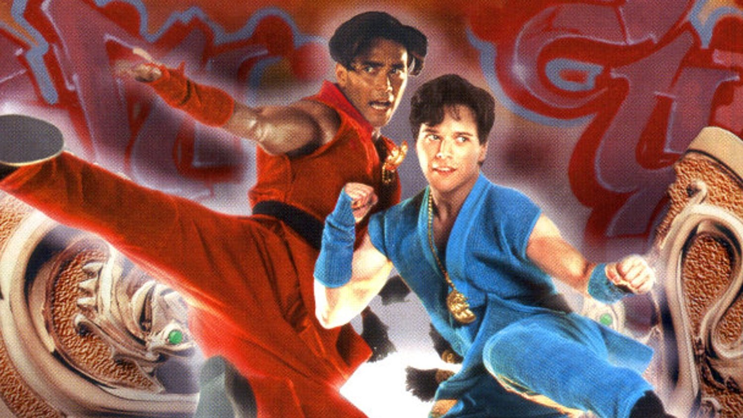 Double Dragon Is Getting A Blu Ray Release For Some Reason
