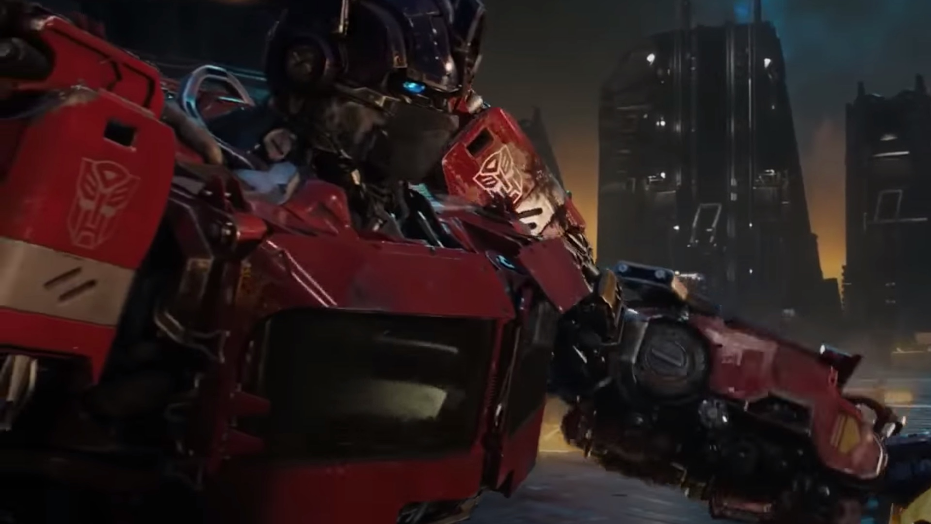 Image result for optimus prime bumblebee
