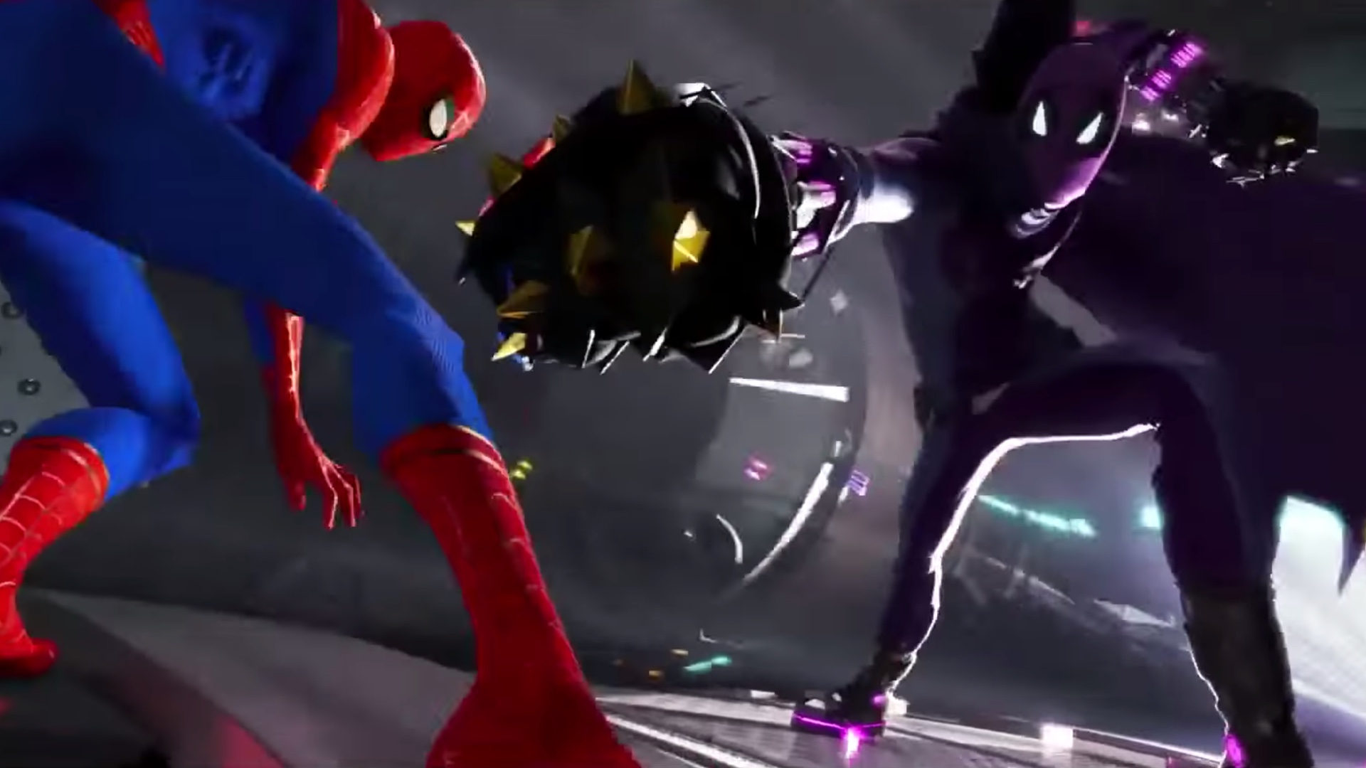 Prowler Into The Spider Verse Concept Art