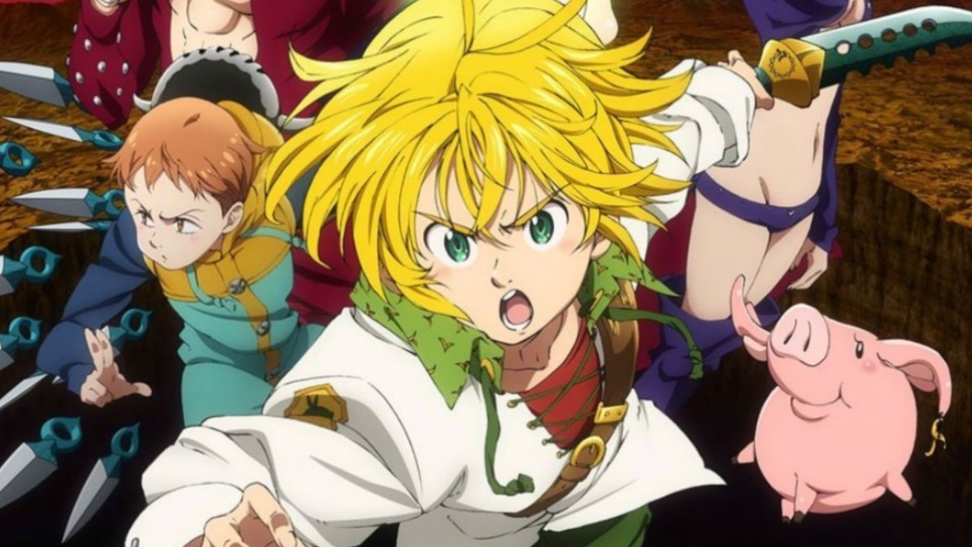 Image result for The Seven Deadly Sins anime