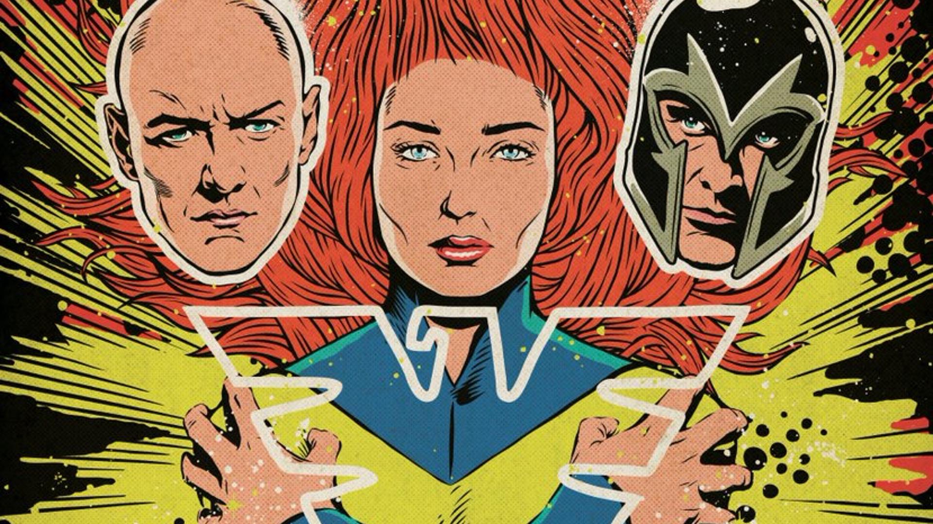 X Men Dark Phoenix Gets Official Comic Book Style Poster Art