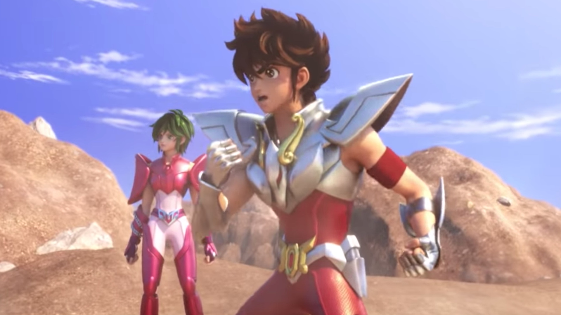 Saint seiya is an anime beloved by many in their quest to bring more anime to their service netflix is making a cg series based on the same concept
