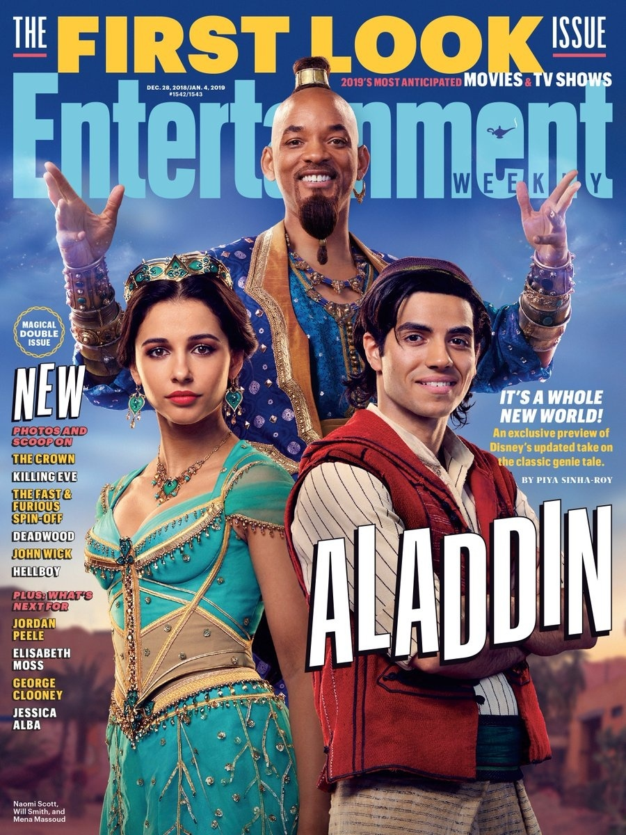 First Photos From Disneys Live Action Aladdin Feature Genie
