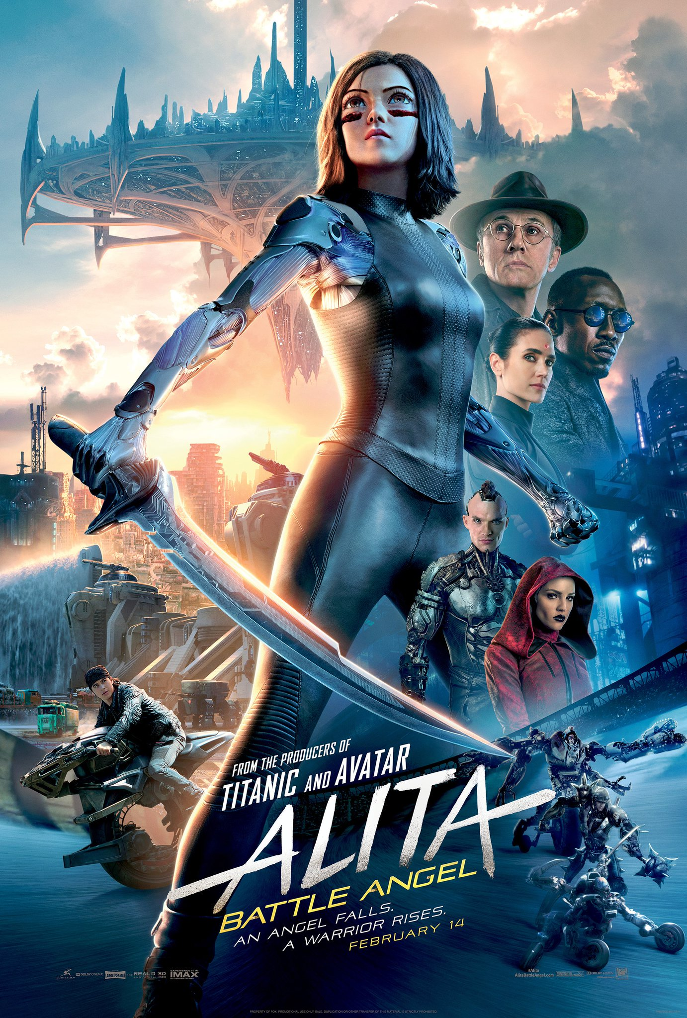Alita: Battle Angel 2019 Full Movie In Dual Audio