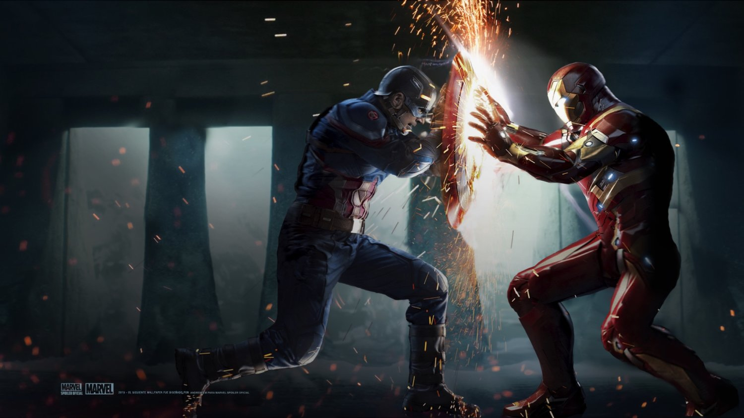 22ce95e7307 CAPTAIN AMERICA  CIVIL WAR Stunt Coordinator Shares Cool BTS Footage of  Iron Man and Captain