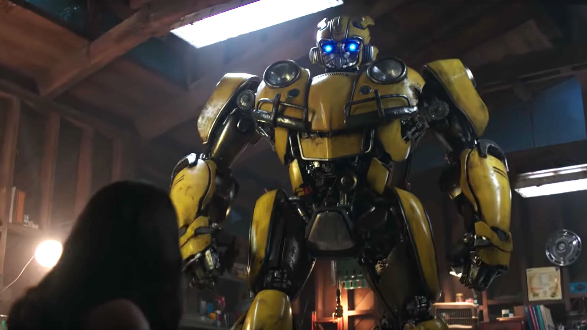 There Was A Little Transformers Cameo In Bumblebee That You Might