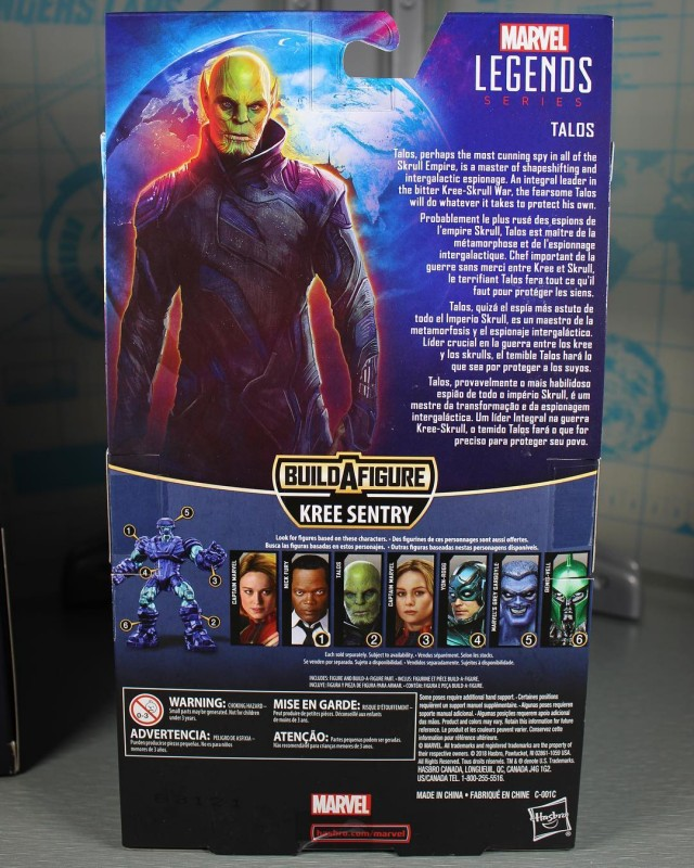 New Captain Marvel Promo Art And Toy Packaging Offers Character