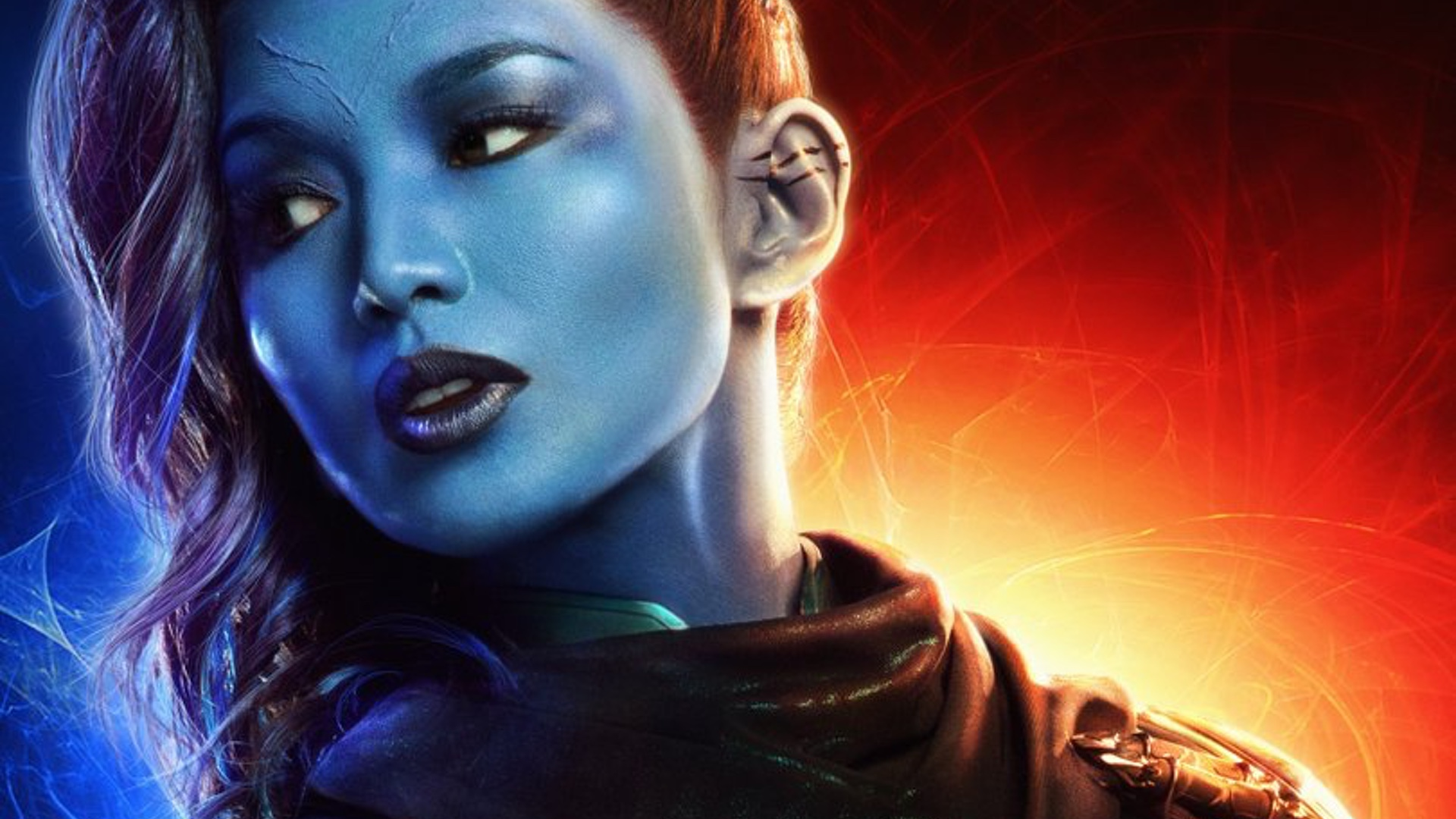 here are 10 character posters for captain marvel — geektyrant