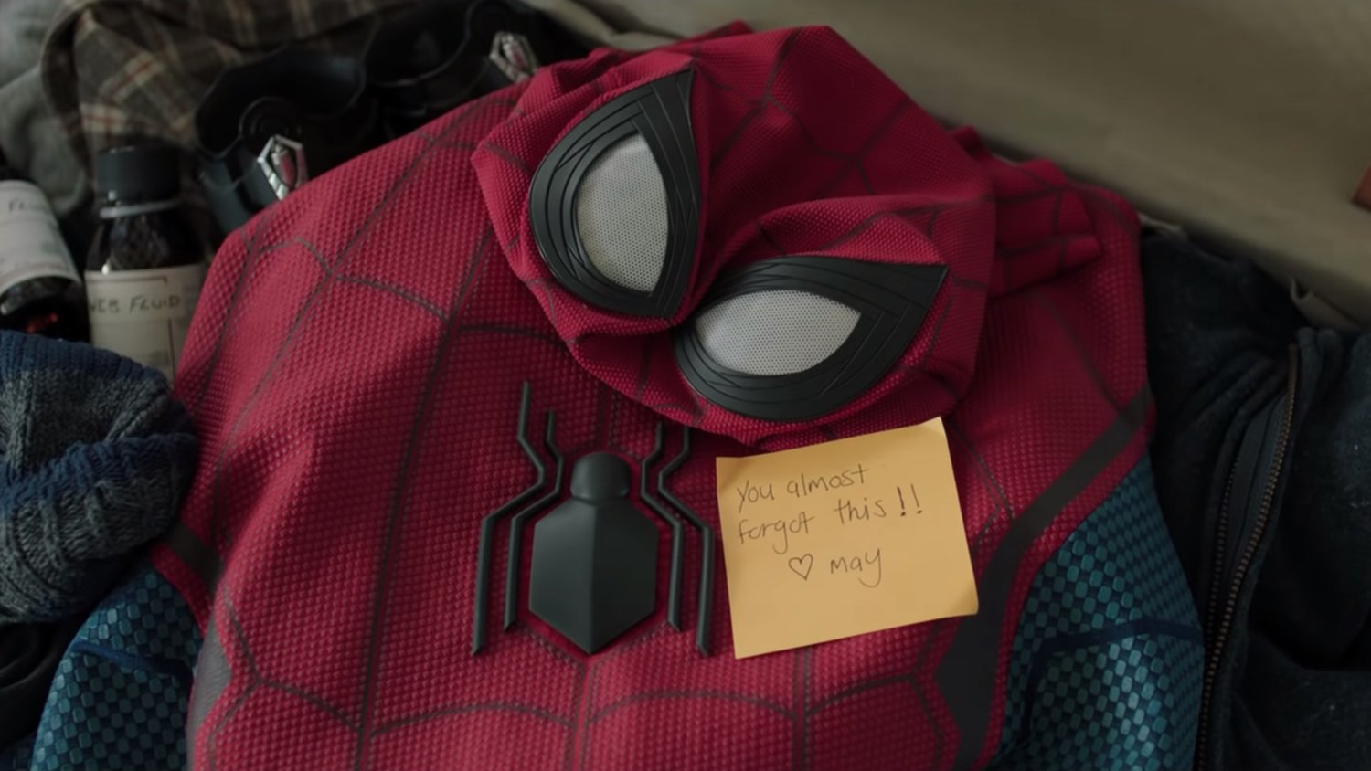 Peter Parker Is In An Awkward Situation In This Brief Clip From Spider Man Far From Home Geektyrant