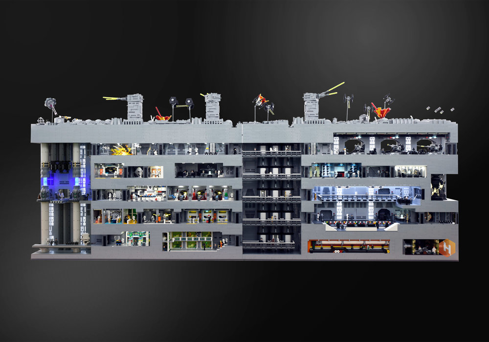 super-detailed-lego-diorama-of-the-star-wars-death-star-trench-run-stays-on-target6