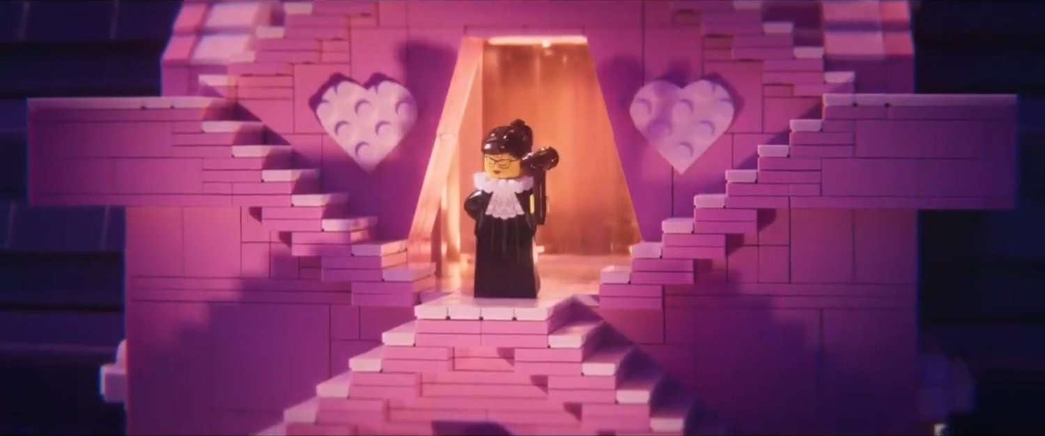Ruth Bader Ginsburg Will Have A Small Cameo In The Lego Movie 2 The Second Part Geektyrant