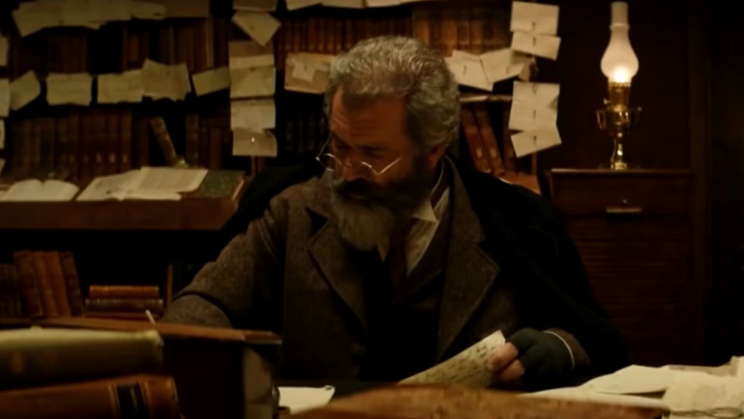 Trailer for Mel Gibson and Sean Penn's Oxford Dictionary Movie THE