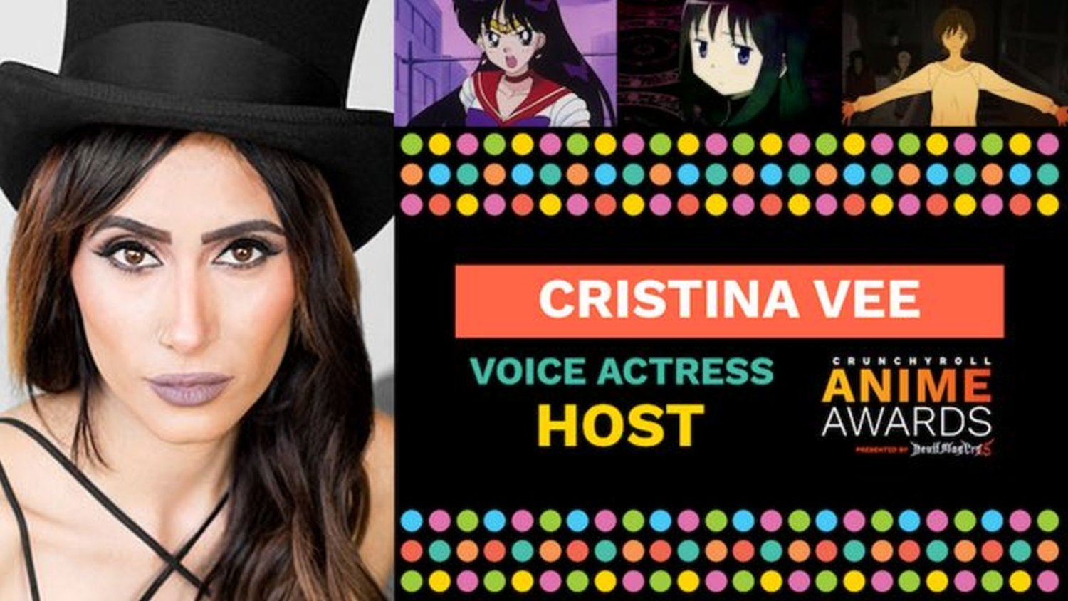 Geektyrant  Geek Movie And Entertainment News Cristina Vee To Host Crunchyroll Anime Awards And Here Are Some Of The  Guests