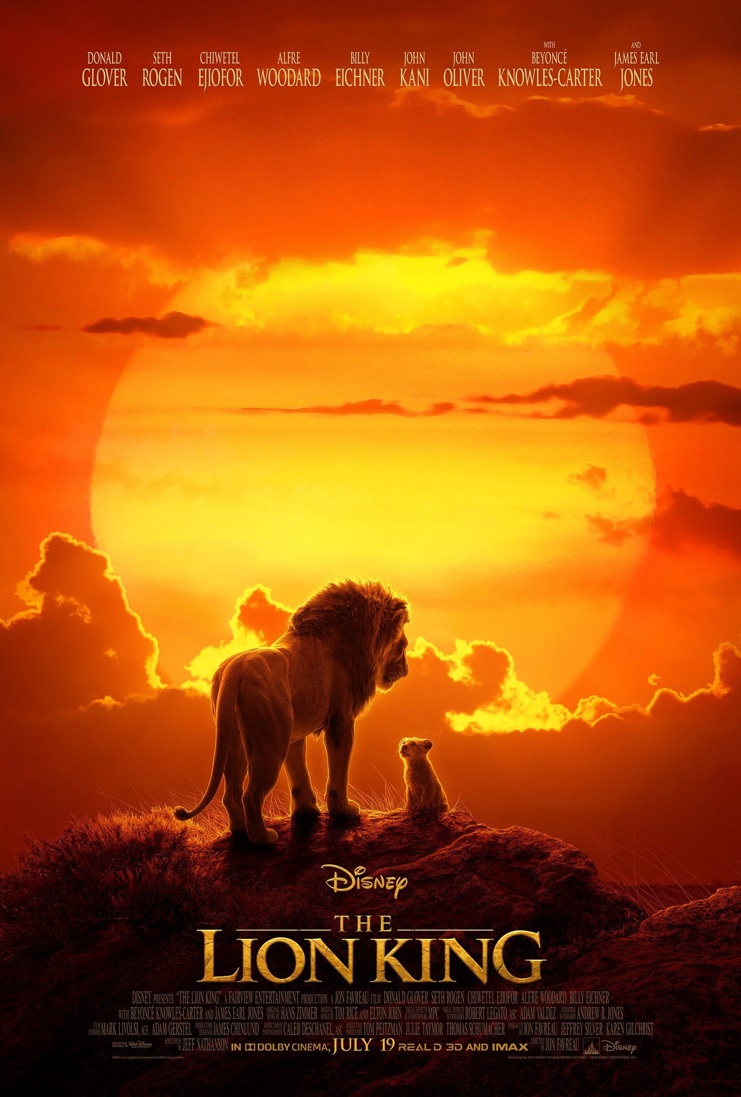 Jon Favreau's THE LION KING Gets a New Poster and TV Spot - Long Live The King1