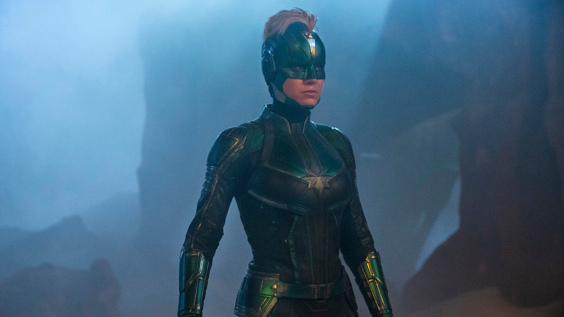 Watch Carol Danvers Fight A Bunch Of Skrulls In New Captain Marvel
