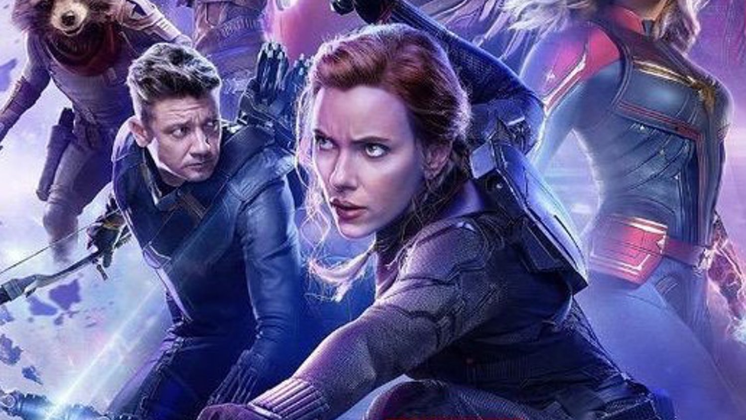 Black Widow Is Front And Center In New Russian Poster For Avengers
