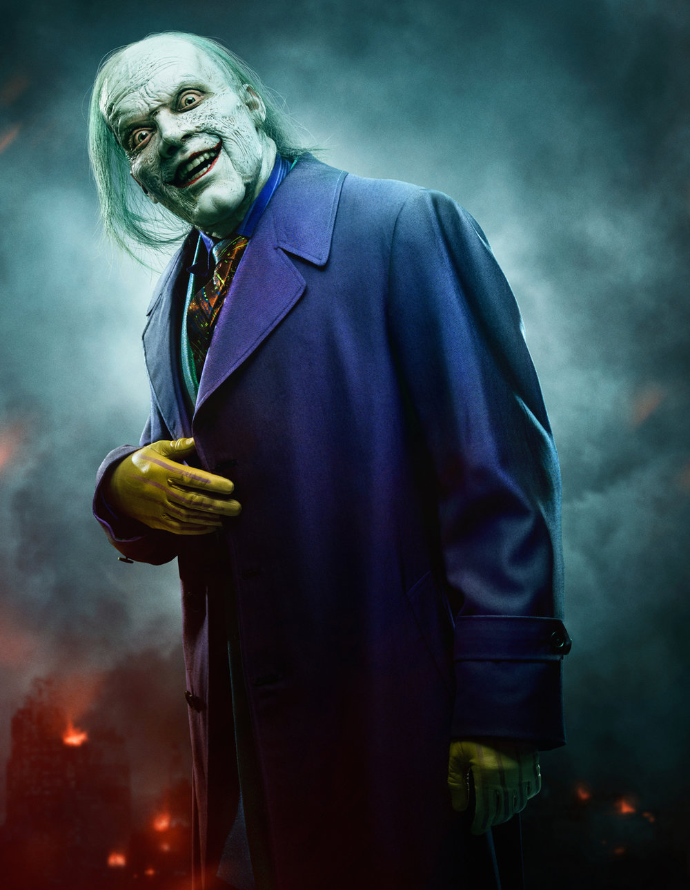 La apariencia final de The Joker en GOTHAM ha sido revelada;  Â¡Mira un nuevo teaser y dinos lo que piensas!