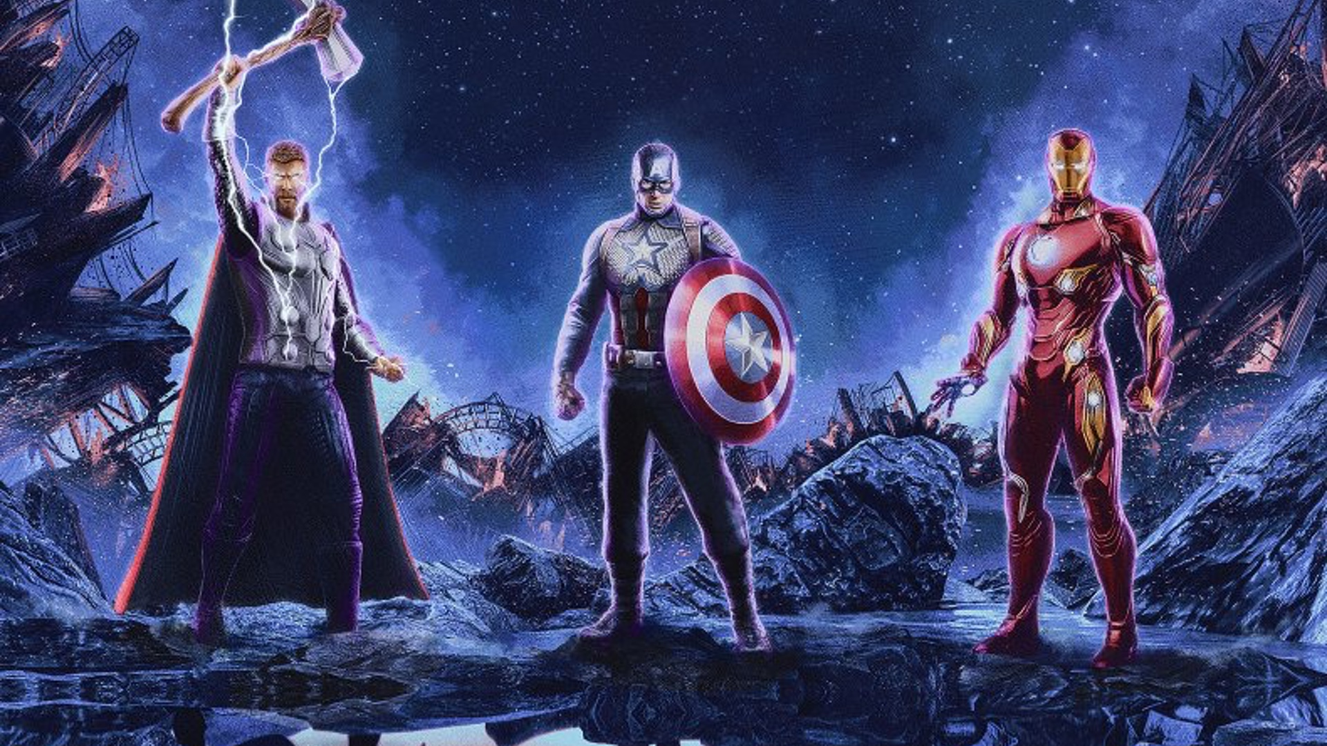 New Avengers Endgame Poster Reflects The Heroes Pasts While