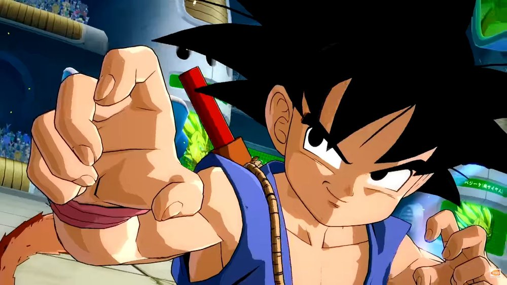 DRAGON BALL GT Goku Gets His Trailer for DRAGON BALL FIGHTERZ