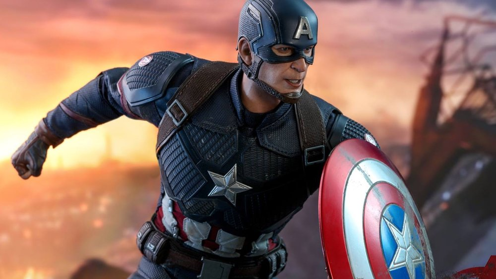 Hot Toys Unveils Their AVENGERS: ENDGAME Captain America Action Figure