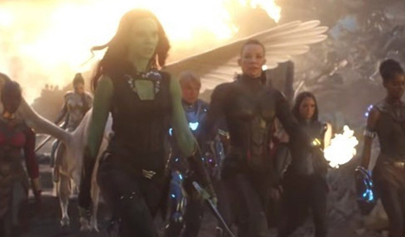 The A Force Assembles In Awesome Avengers Endgame Behind The Scenes