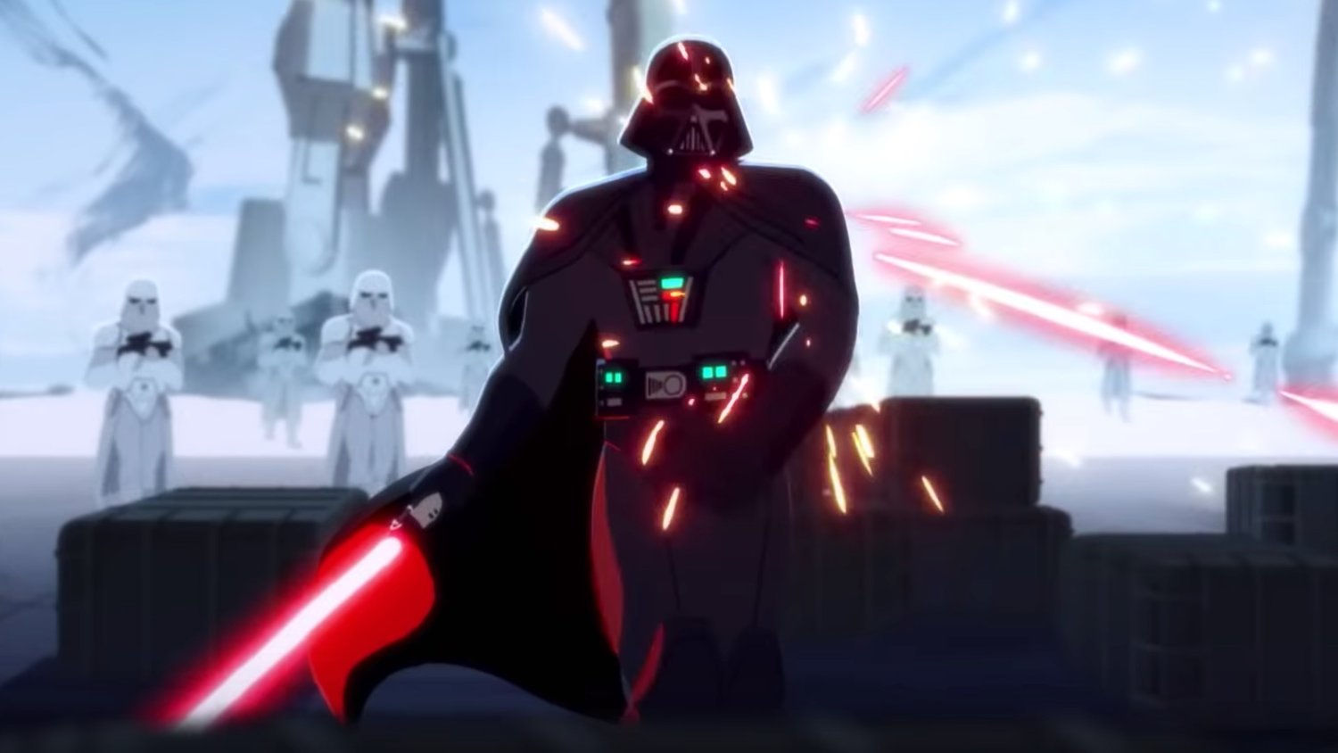 The First STAR WARS: GALAXY OF ADVENTURES Animated Shorts
