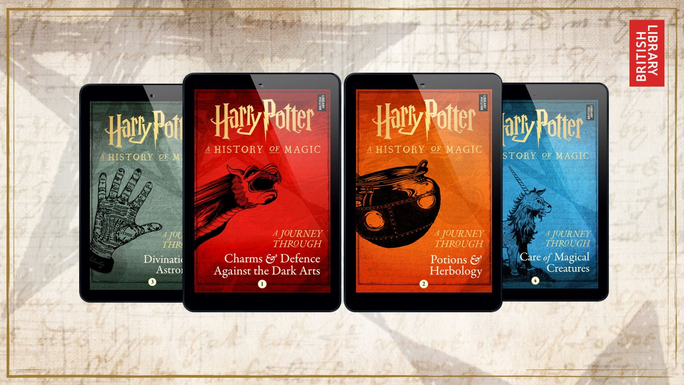 Historical Harry Potter E Books Headed Our Way Geektyrant