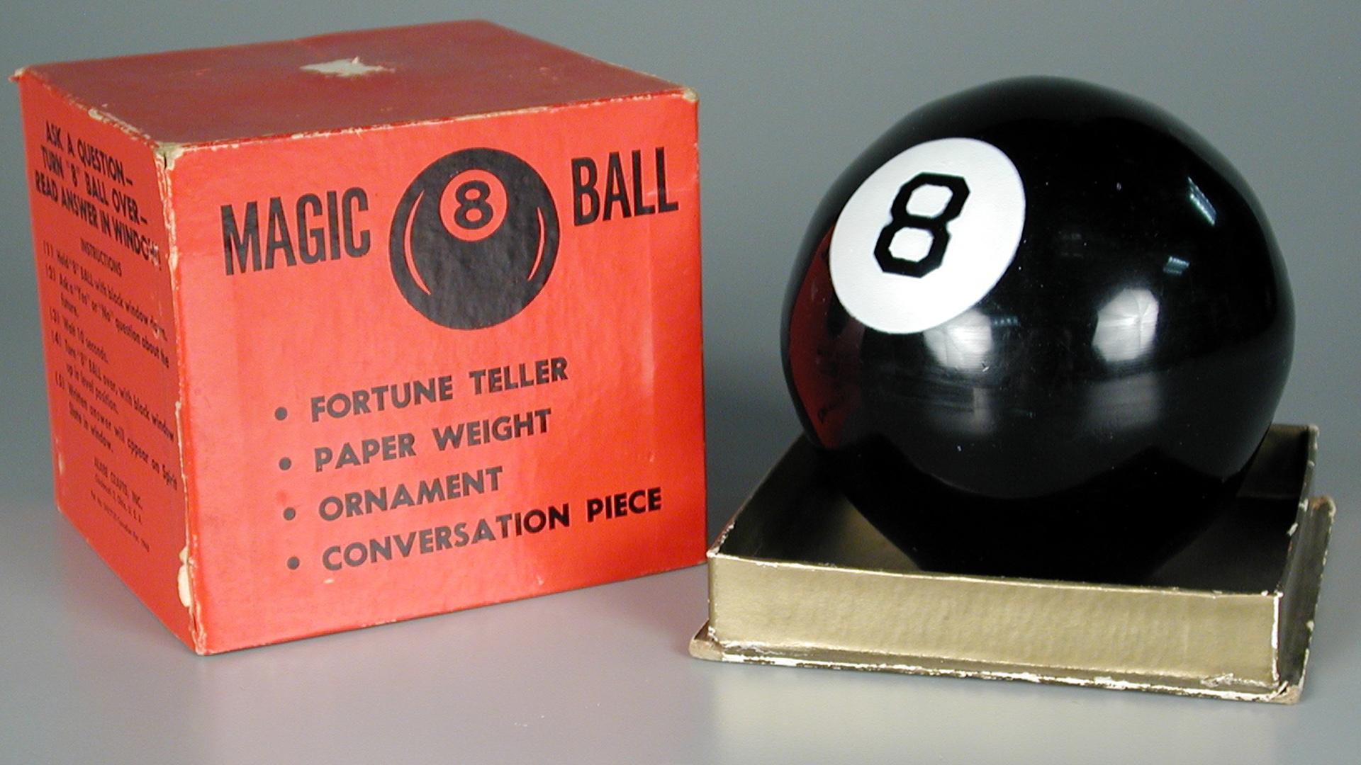 Magic 8 Ball Play Toy High Quality Mattel New