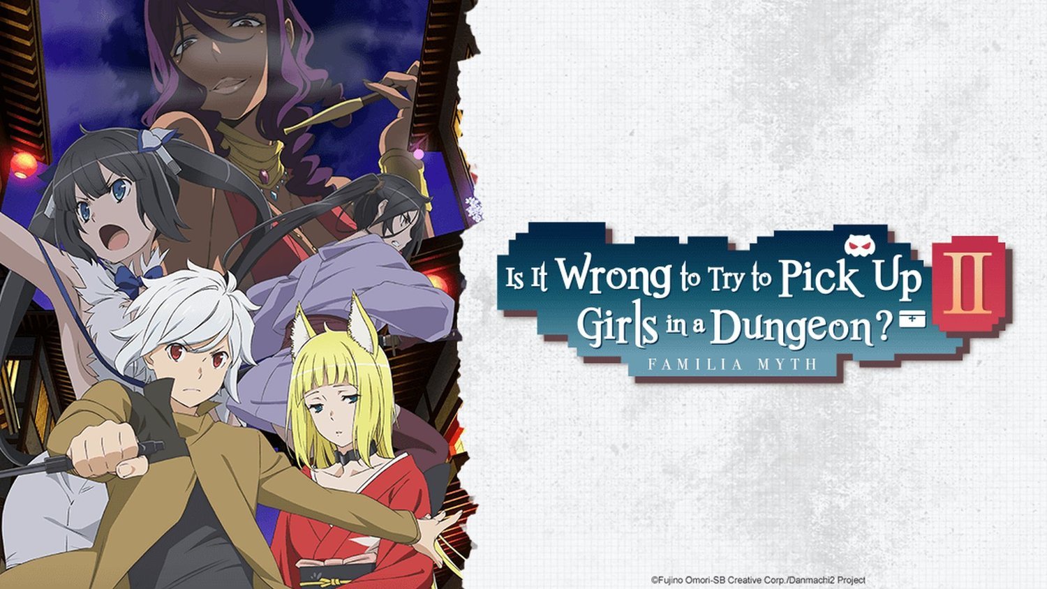 Hasil gambar untuk Is It Wrong to Try to Pick Up Girls in a Dungeon ii