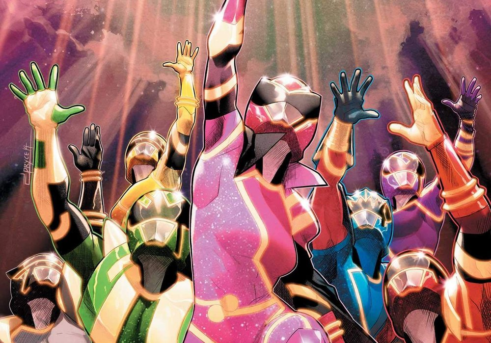 341b90cea5ab1 MIGHTY MORPHIN POWER RANGERS Vol. 10 Features the Conclusion to