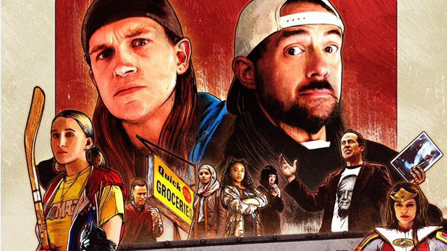 Kevin Smith Shares First Poster for JAY & SILENT BOB REBOOT