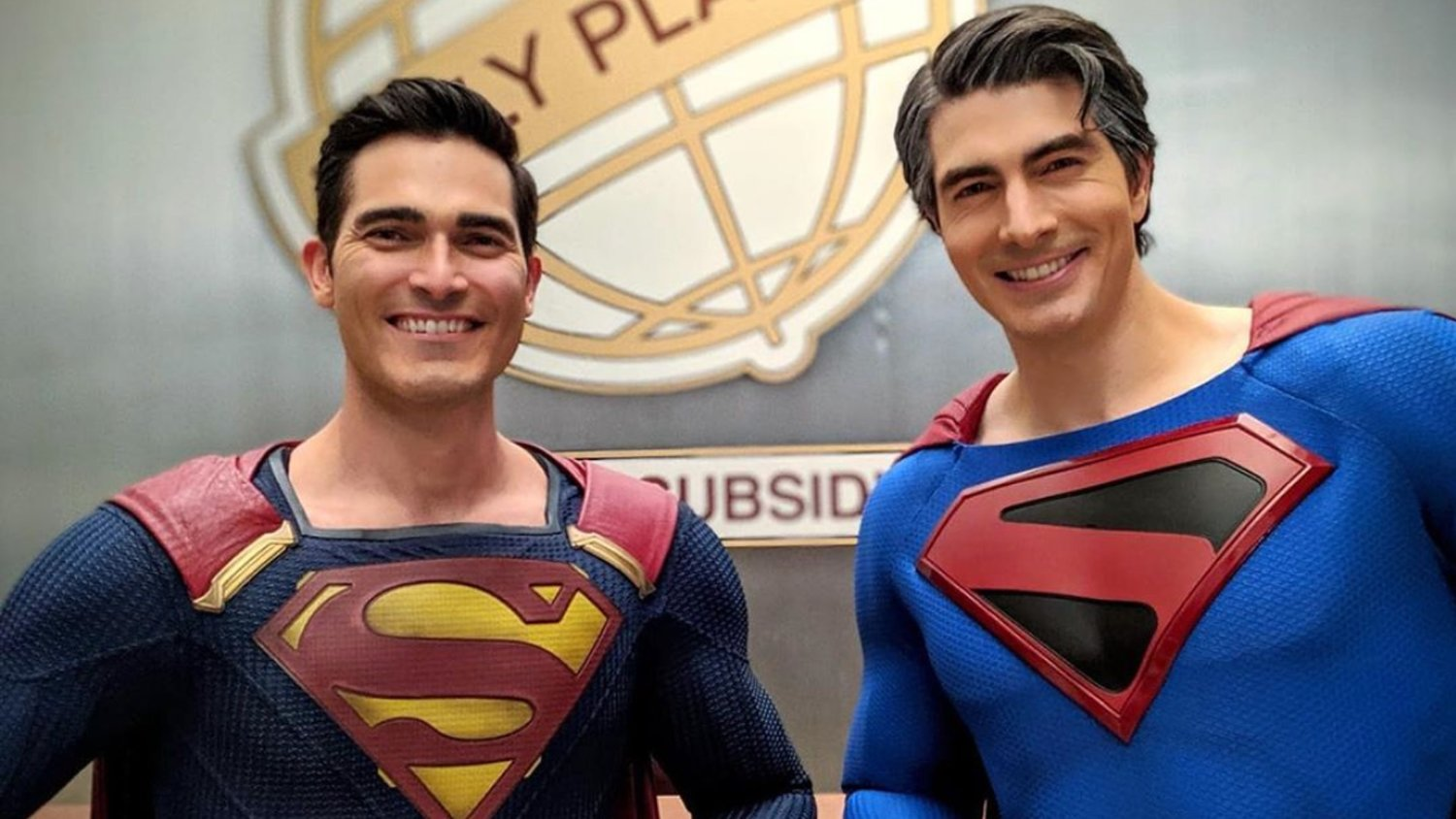 Brandon Routh's Kingdom Come Superman Poses with Tyler ...