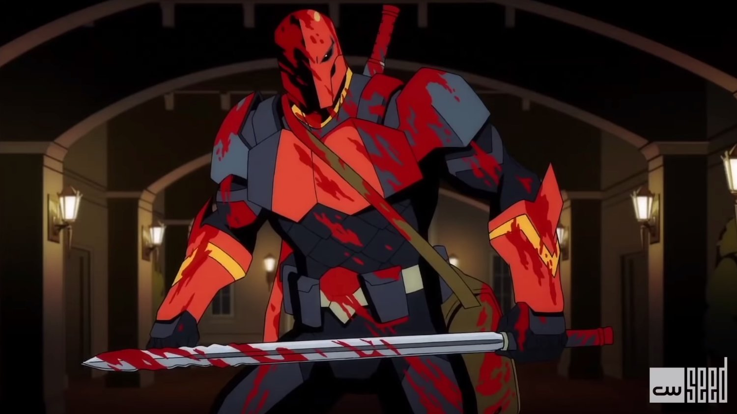 Bloody First Clip From DC's DEATHSTROKE: KNIGHT & DRAGONS Animated Series with Michael Chiklis