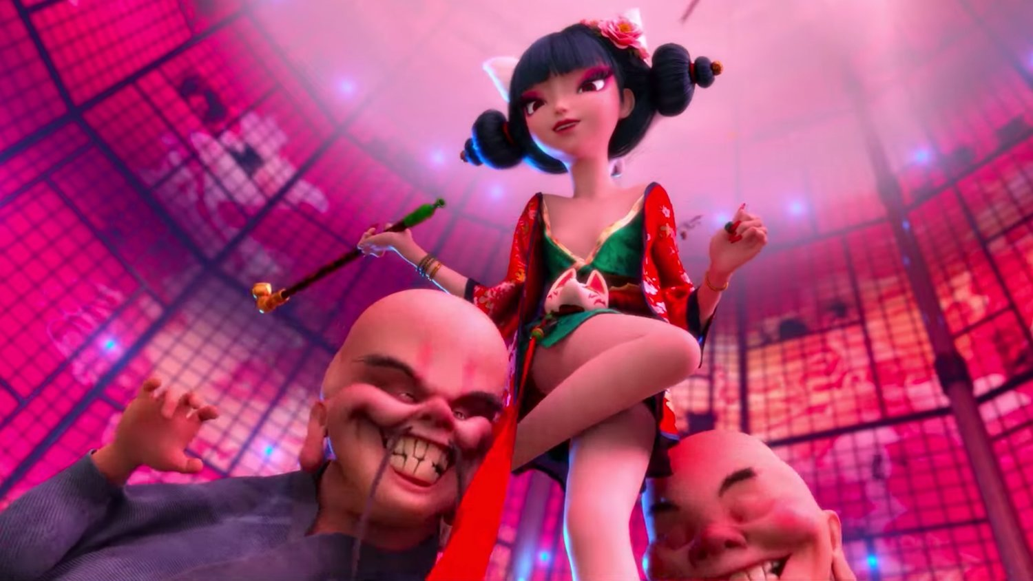 Weird New Clip From The Beautifully Animated Upcoming Chinese Fantasy Film White Snake Geektyrant