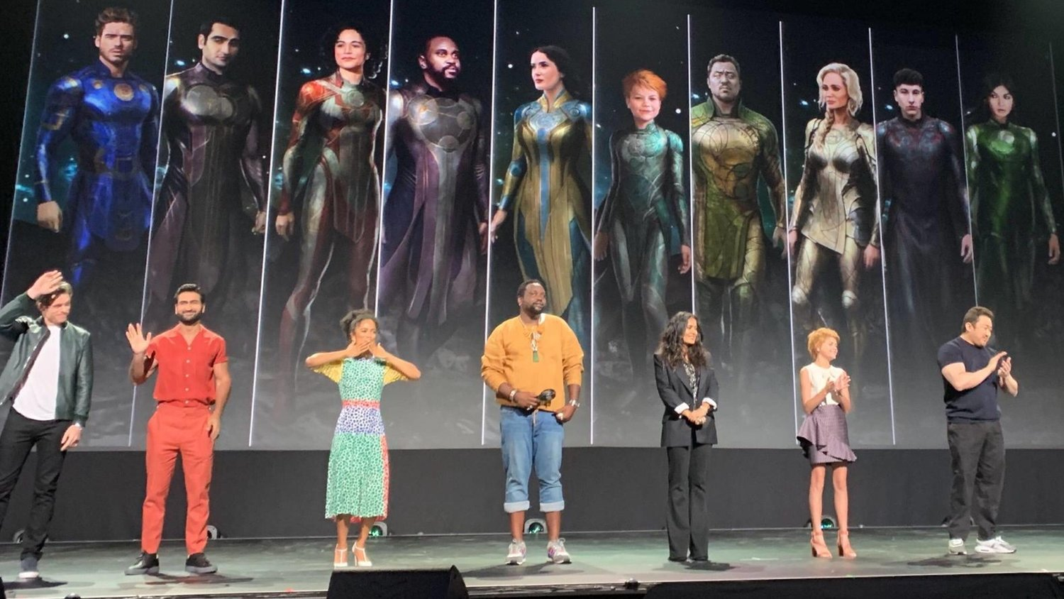 New Set Photos From Marvel's THE ETERNALS Show the Cast in Their ...