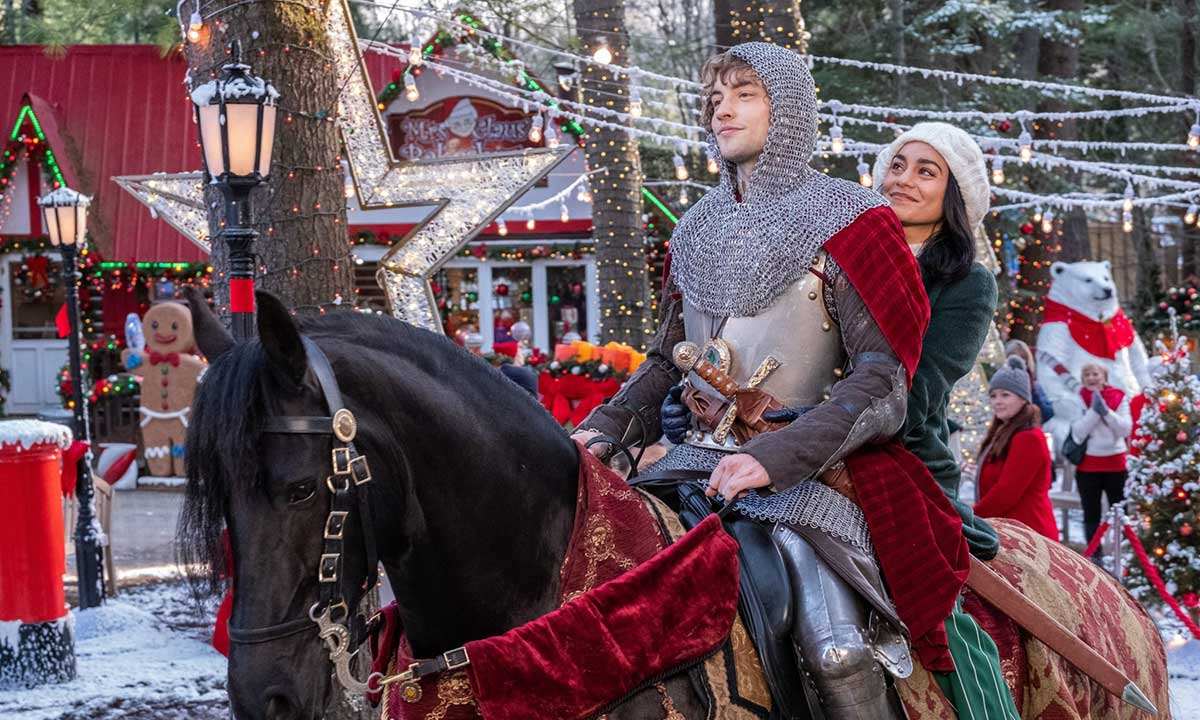 Trailer for Vanessa Hudgens's Netflix Movie THE KNIGHT BEFORE CHRISTMAS Is So Cheesy You'll Need to Watch It With Crackers