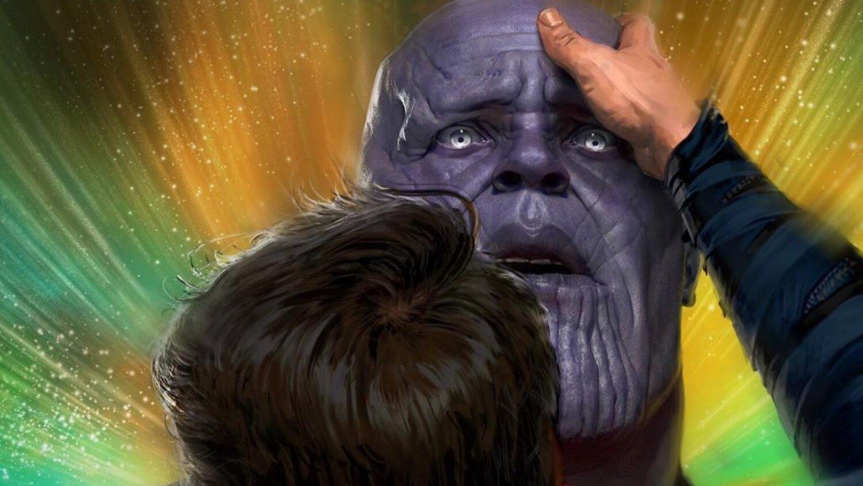 ENDGAME Art présente une scène supprimée où le docteur Strange envoie Thanos lors d'une tournée de mystère magique – Newstrotteur avengers endgame art features a deleted scene where doctor strange sends thanos on a magical mystery tour social