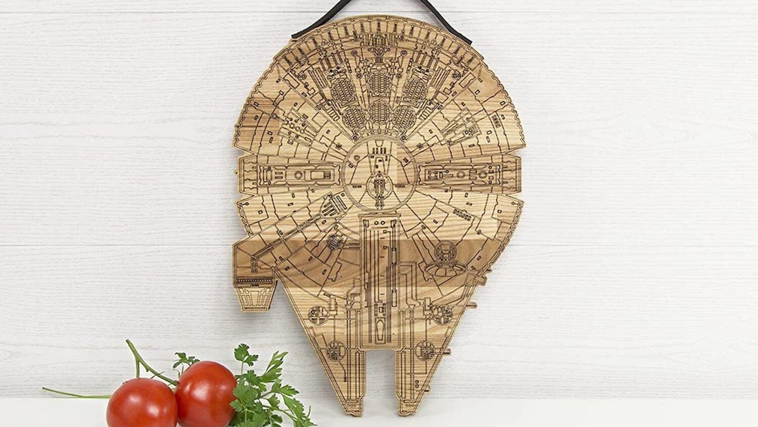 Chop it Chewy! Check Out This Millennium Falcon Cutting Board — GeekTyrant
