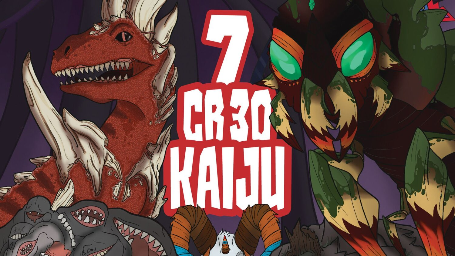 Challenge Almighty Kaiju in DUNGEONS & DRAGONS with TITANS OF THE ANCIENT WORLD