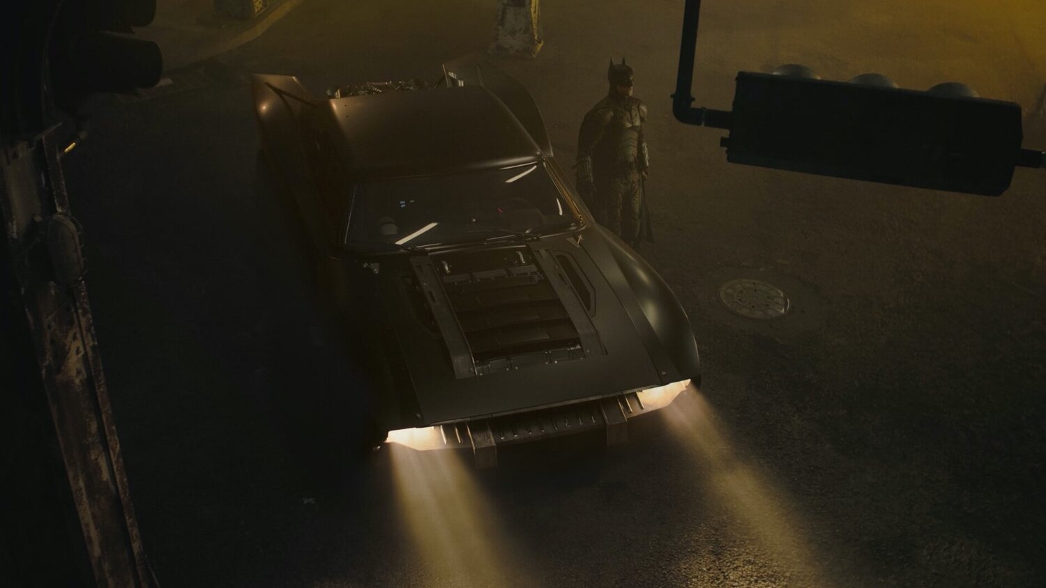 Cool Concept Model of The Batmobile From THE BATMAN Shared Online