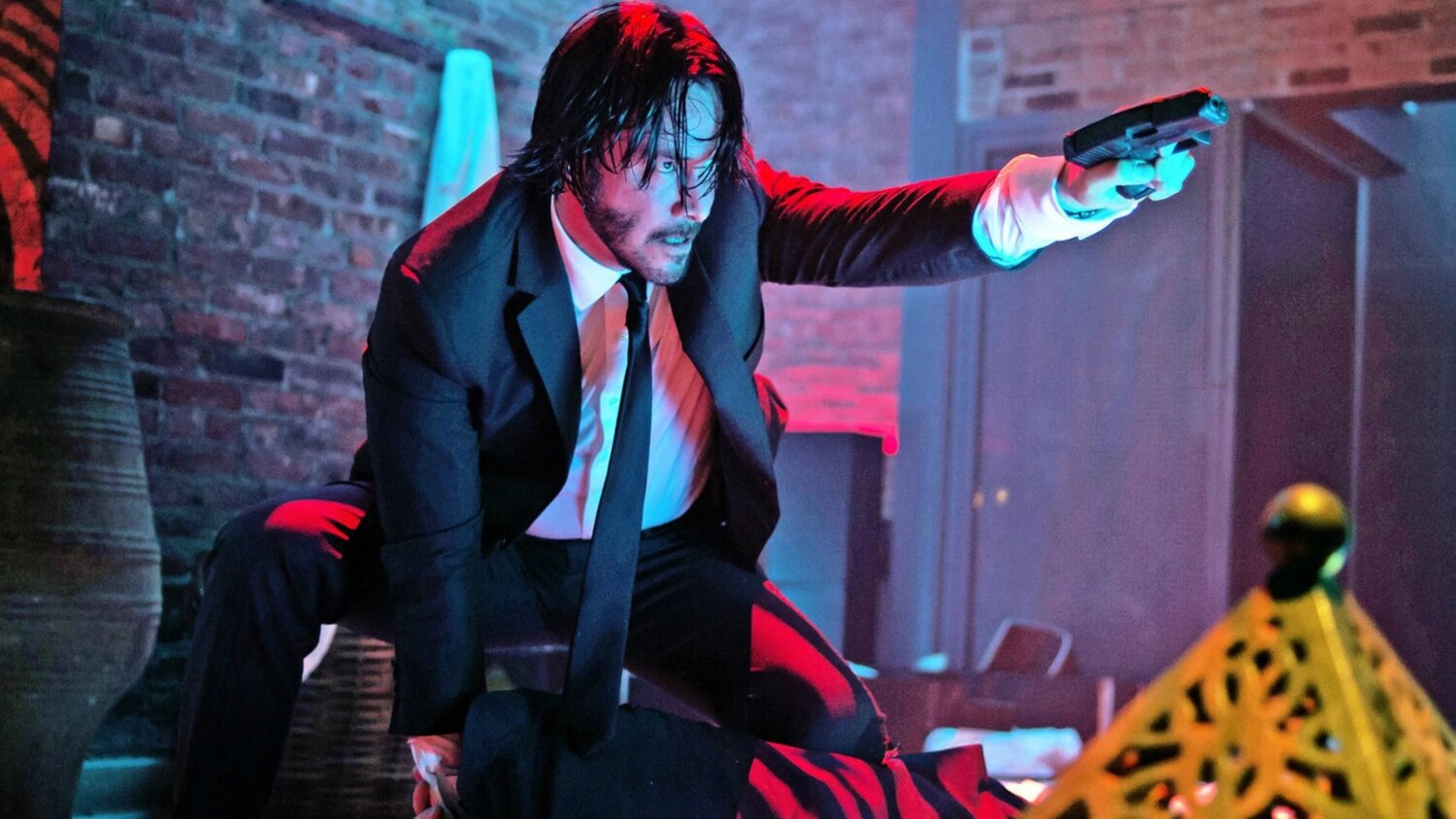 The Director of JOHN WICK 3 Explains Why Winston Ended Up Shooting Wick at The End of The Film