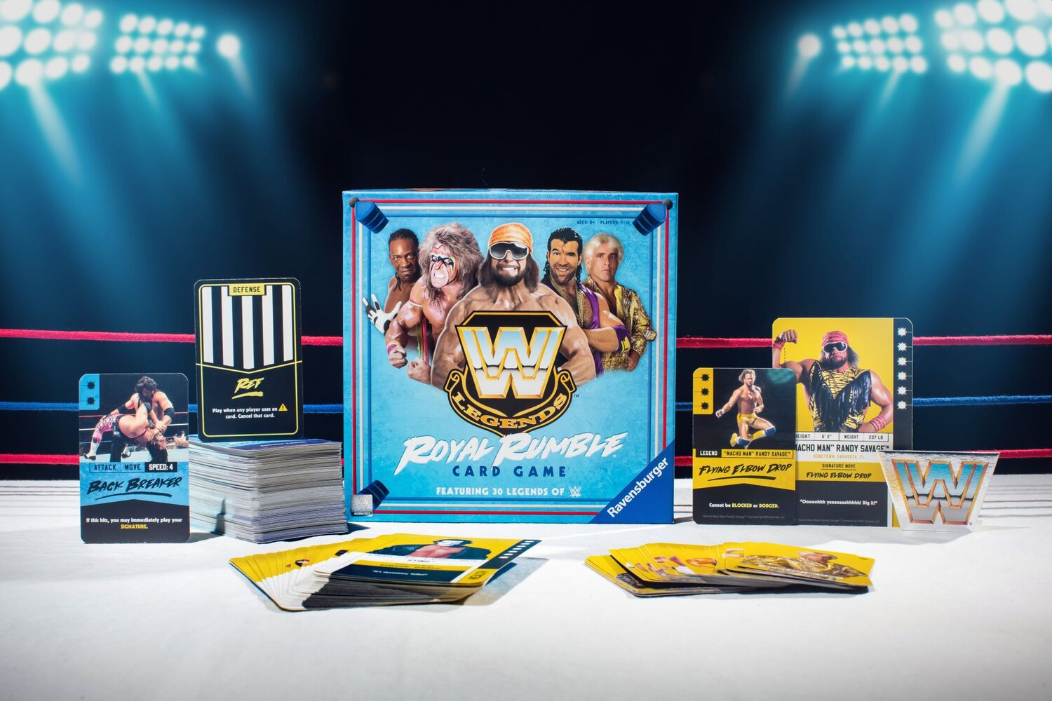 WWE LEGENDS ROYAL RUMBLE CARD GAME Is an Upcoming Game from Ravensburger