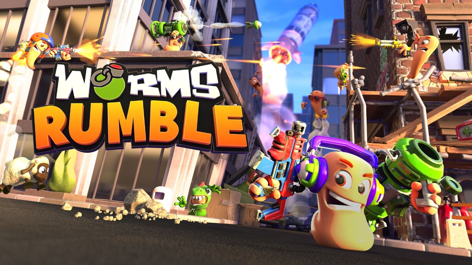 Team17 Reveals New WORMS RUMBLE Featuring Real-Time Combat