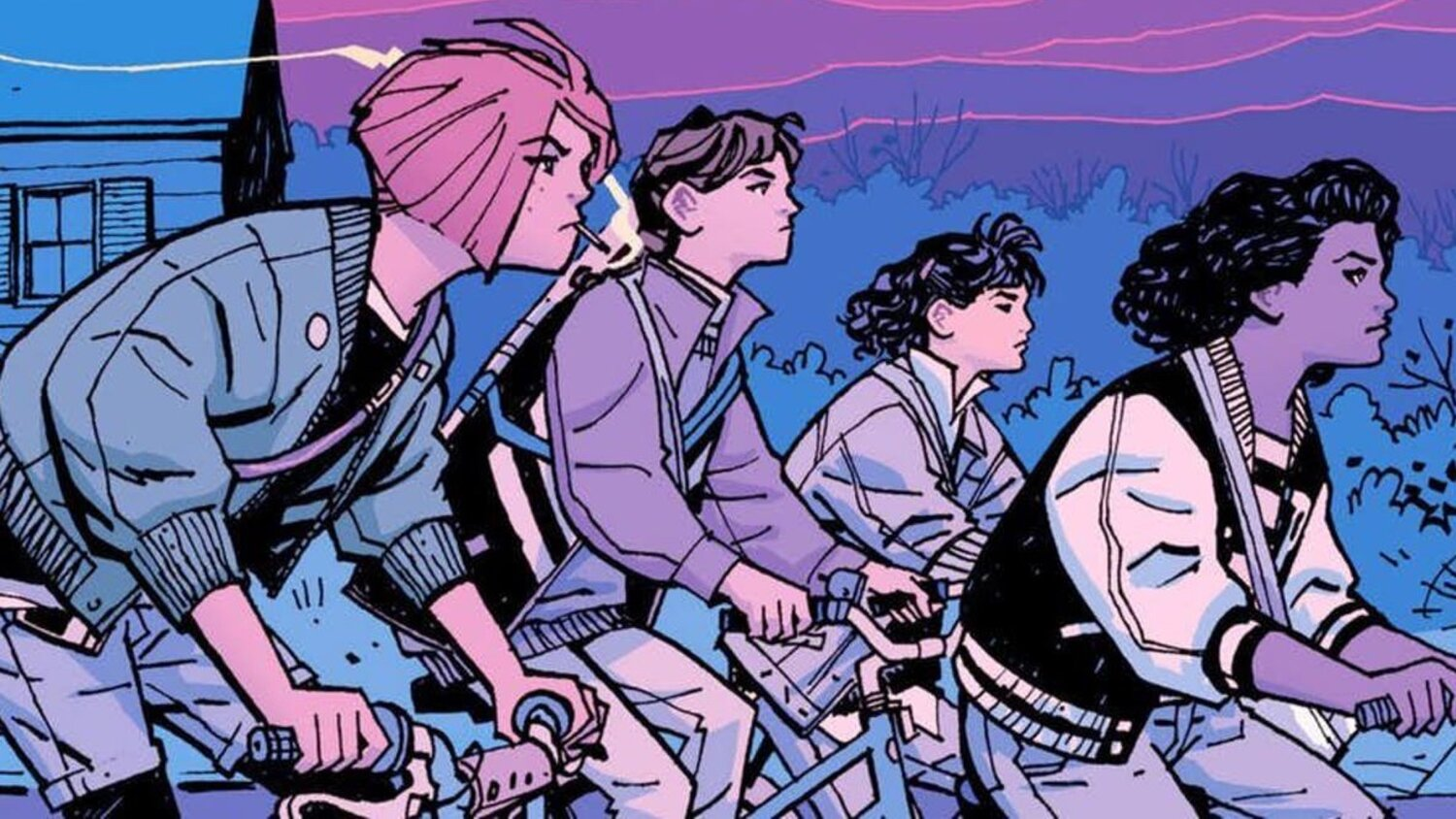 Amazon Officially Announces Series Adaptation of Brian K. Vaughan's Comic PAPER GIRLS