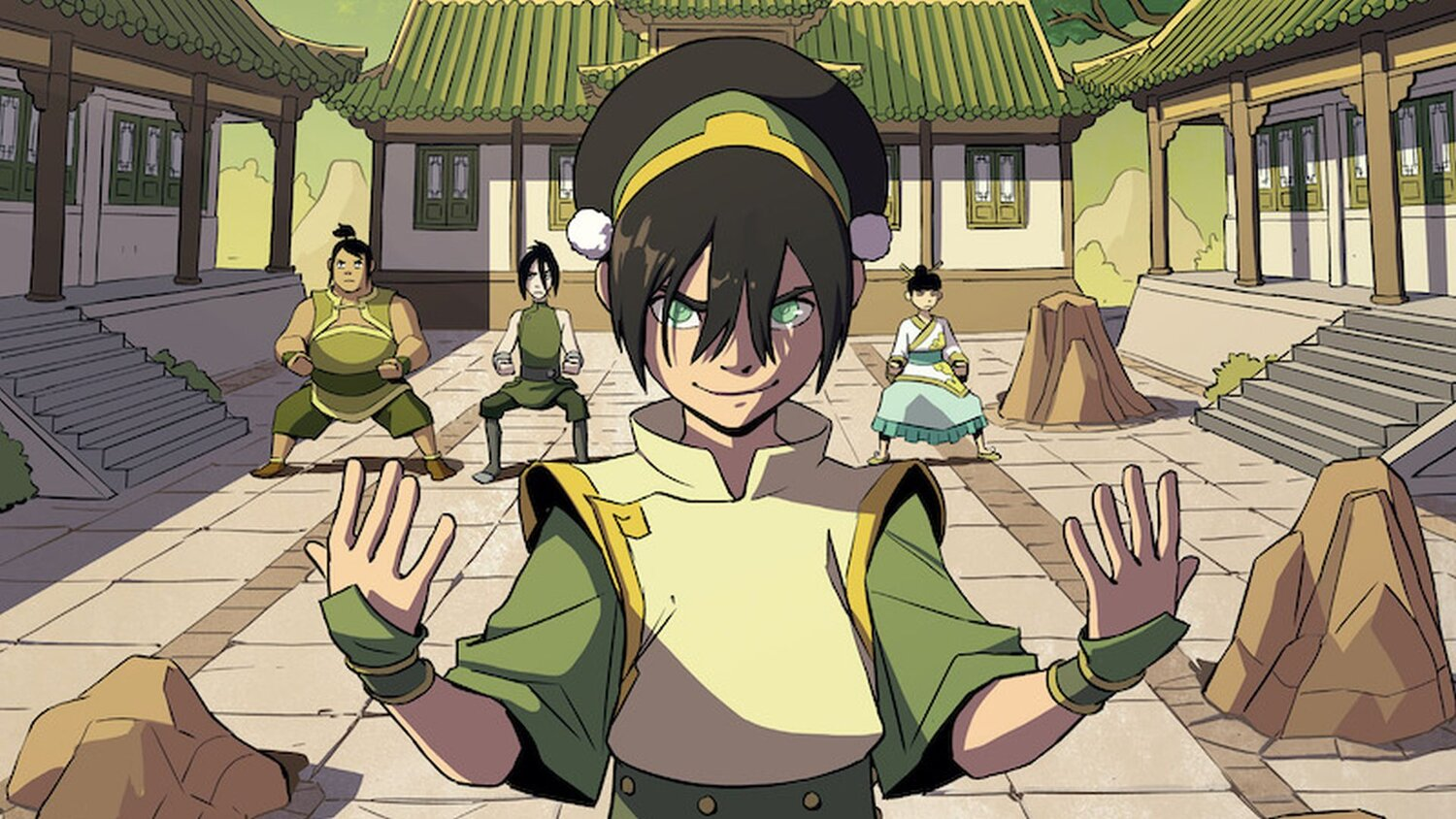 Toph Beifong is Getting Her Own Graphic Novel Story in TOPH BEIFONG'S METALBENDING ACADEMY