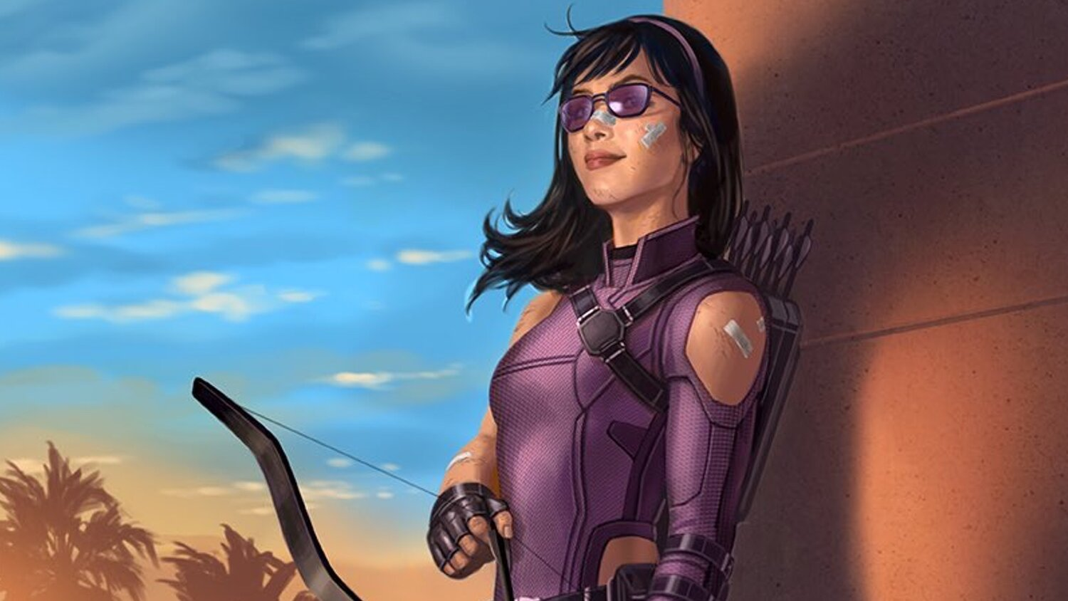 Official Concept Art Shared For Marvel's HAWKEYE Series Featuring Kate Bishop