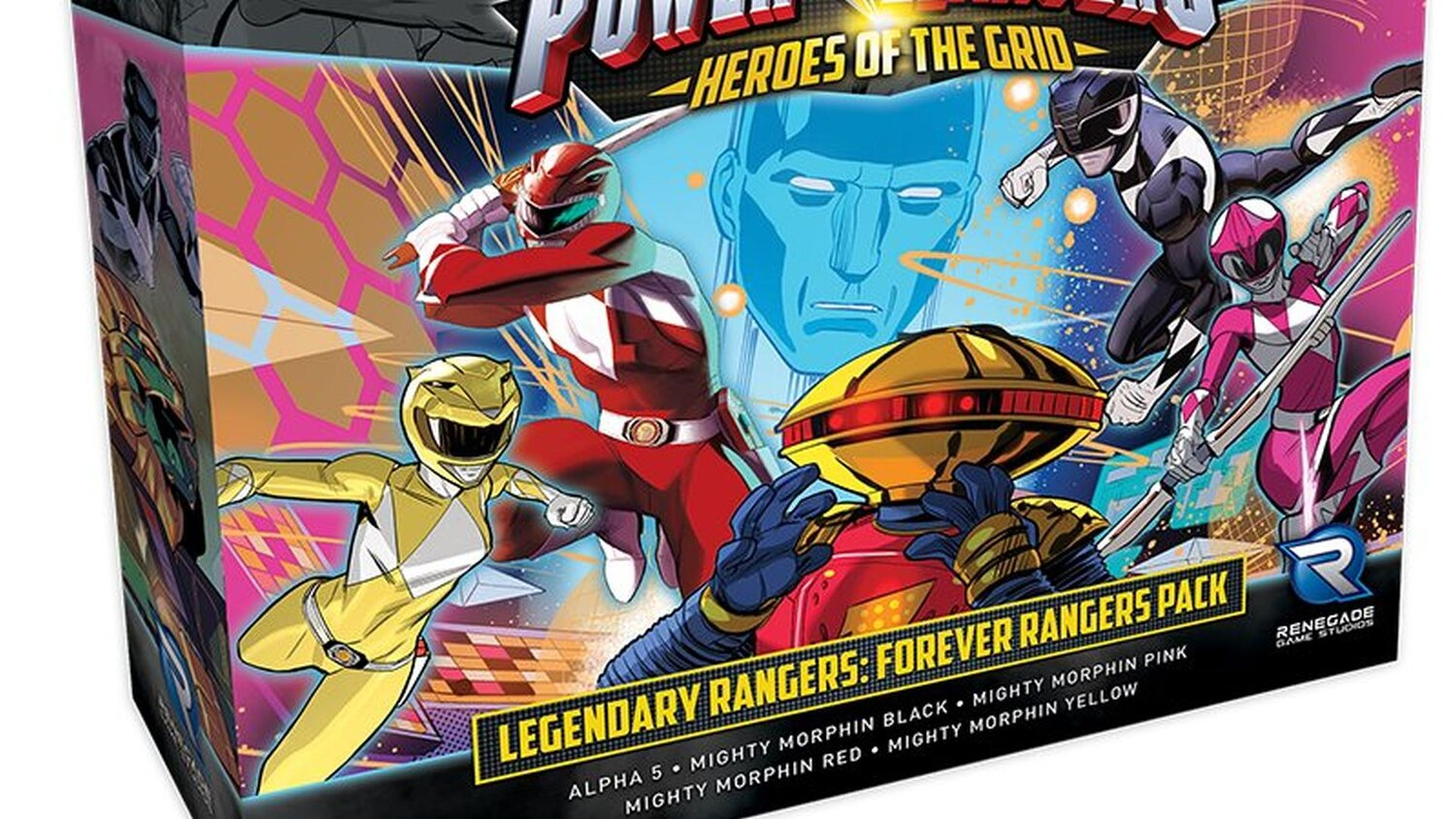 POWER RANGERS: HEROES OF THE GRID Reveals Details for a New Expansion