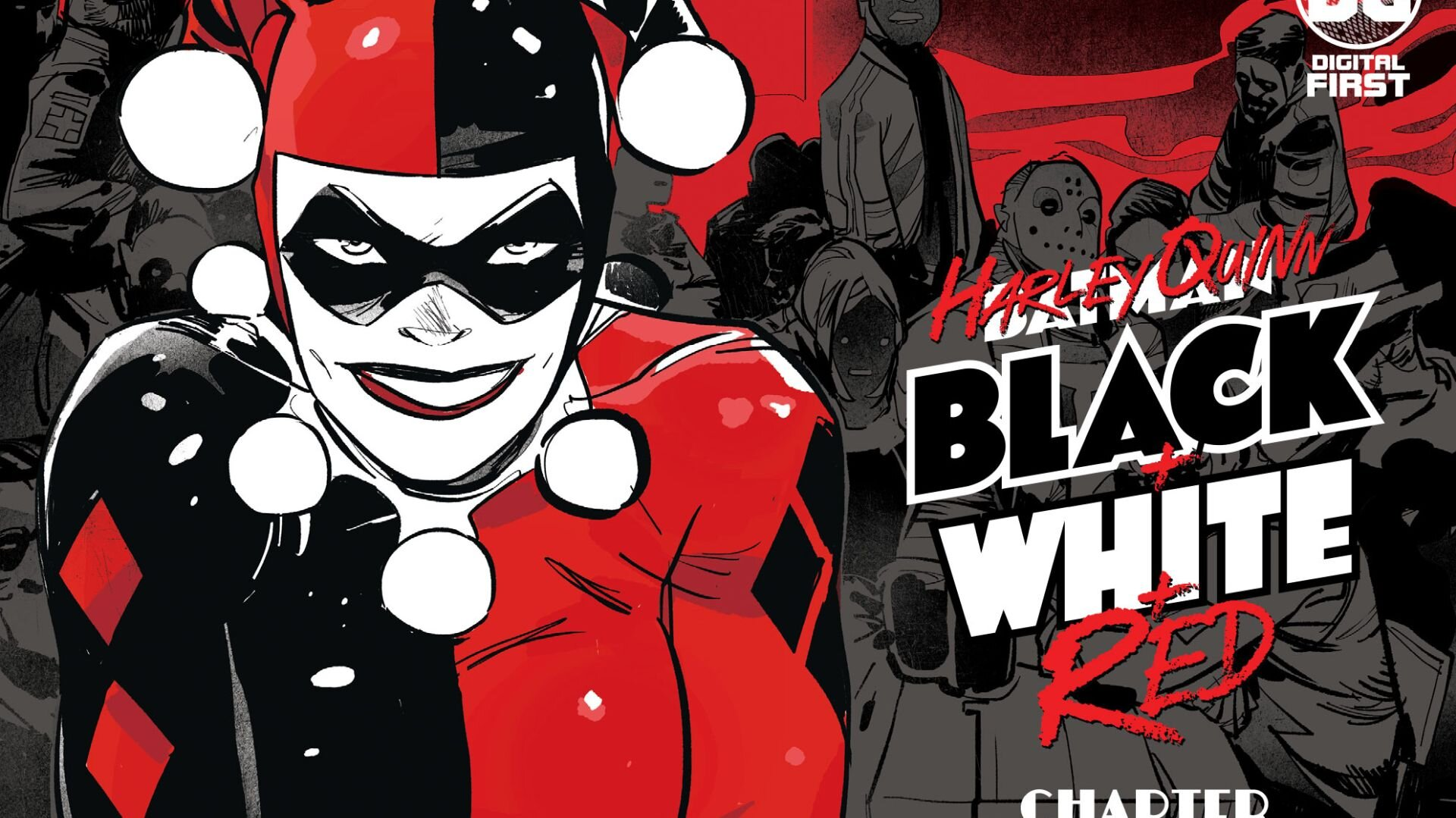 Check Out DC's Plans for HARLEY QUINN: BLACK + WHITE + RED This Month